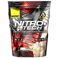 MuscleTech NITRO-TECH Whey Isolate Lean Musclebuilder Review