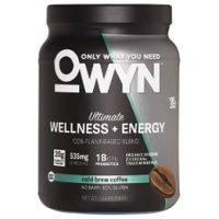 OWYN Wellness + Energy Plant-Based Protein Review